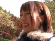 Strong amateur oral session with hot Chika Sena