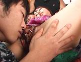 Anna Oguri amateur Japanese threesome sex show picture 13