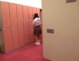 Cute schoolgirl banged in steamy fuck picture 15