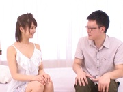 Very hot and shameless teen Nanami Kawakami fucks a horny guy