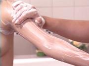 Soapy hardcore fuck for amazing Miyu Hoshino