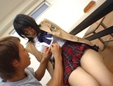Japanese schoolgirl enjoys sex with her horny teacher picture 13