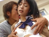 Japanese schoolgirl enjoys sex with her horny teacher picture 14
