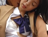 Japanese schoolgirl enjoys sex with her horny teacher picture 15