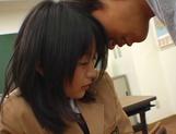 Japanese schoolgirl enjoys sex with her horny teacher
