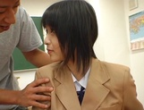 Japanese schoolgirl enjoys sex with her horny teacher picture 6