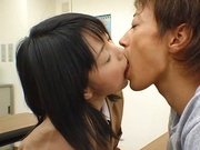 Japanese schoolgirl enjoys sex with her horny teacher