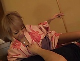 Aiba Reika in pink lingerie has steamy hot sex picture 13