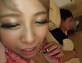 Aiba Reika in pink lingerie has steamy hot sex
