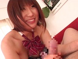 Schoolgirl Koko Yumemi enjoys teacher's cock in exchange for better grades