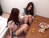Misaki Yui enjoys an erotic pussy licking