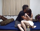 Sweet Japanese girl featured in a wild spicy fuck
