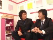 Kinky schoolgirl Minami Kojima gives a double blowjob publicly