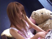 Mio Ayase blows and fucks in POV manners