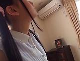 Beautiful teen Satou Airi gets penetrated deep