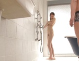 Sensual Asian girl Azu Hoshitsuki fucked in the shower and jizzed on tits