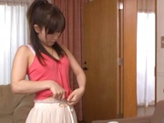 Petite horny teen gal Minami Kojima enjoys pleasures of sex