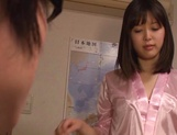 Kinky Tsukasa ready to have her pussy nailed picture 8