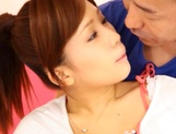 ot teen girl with firm tits and sexy figure Minami Kojima rides cock