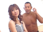 Superb Japanese gangbang with Mio Ayase