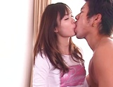 Gorgeous teen Hikaru Koto has amazing sex with an impressive guy picture 15