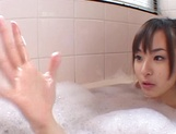 Gorgeous teen Hikaru Koto has amazing sex with an impressive guy picture 7