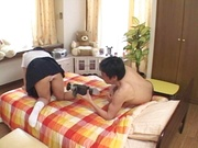 Homemade Asian porn with young Miho Anzai