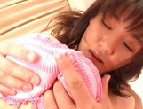 Sexy Japanese teen pleases her boyfriend in all possible ways picture 11