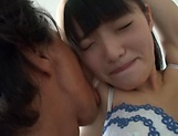 Mature babe Kazusa Yatabe with shaved pussy fingering picture 12