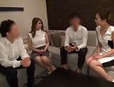 Mari Asahina Asian teacher has some group sex