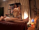 Ami Adachi gives a sensual massage leading to sex picture 13