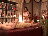 Ami Adachi gives a sensual massage leading to sex