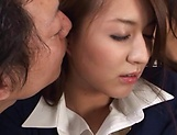 Jun Harada enjoys a steamy hot pounding