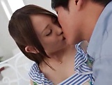 Sensual chick Beni Itou loves to suck cock and fuck hard