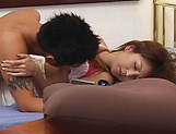 Asian beauty Kaede Matsushima devours cock in perfect hardcore picture 13