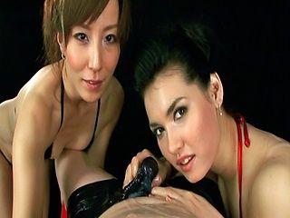 Maria Ozawa Asian doll is enjoying rubbing and sucking a cock