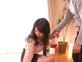 Japanese milf Yuuki Hodaka enjoys pussy licking and hardcore sex picture 11