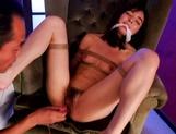 Karina Nishida tied up for some kinky adventures