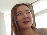 Japanese teen blows cock like a true amateur goddess picture 12