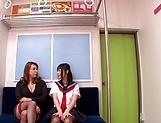 Yumi Kazama gets fucked by a sexy milf