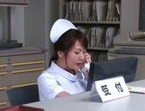 Hazuki Nozomi enjoys a sweet lesbian session picture 11