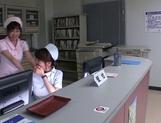 Hazuki Nozomi enjoys a sweet lesbian session picture 15