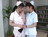Hazuki Nozomi likes a girl on girl action