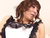 Sexy model Reiko Sawamura not shy to expose her goodies