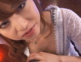 Cum-thirsty cutie Akiho Yoshizawa gives nice blow on Asian pov picture 23