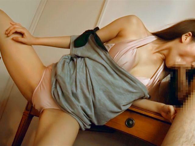 Sassy big tits Chisa Hoshino gets a kinky titty fuck