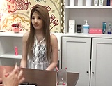 Massage turns naughty for insolent Asian Moka