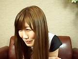 Saki Mizumi solo spicy session with sex toys picture 8