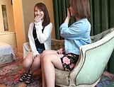 Riko Erika and Honoka Minami get screwed picture 11