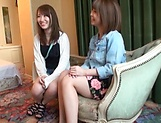 Riko Erika and Honoka Minami get screwed picture 12